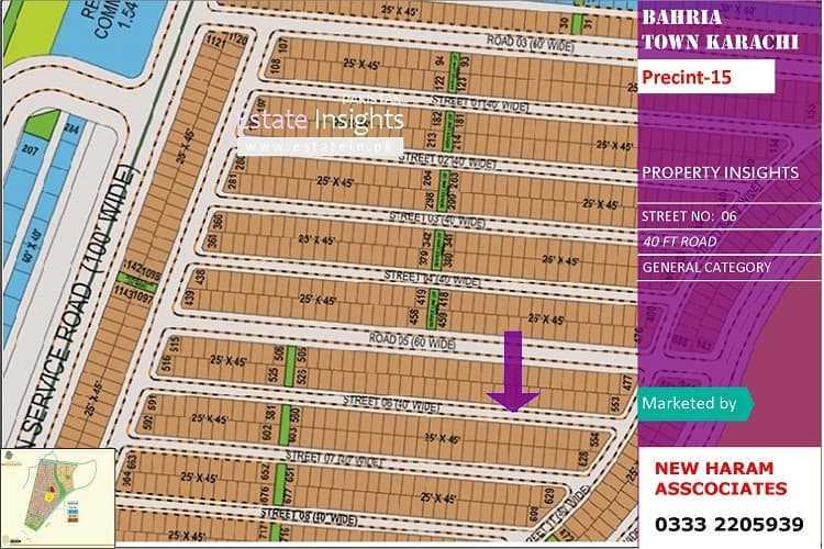 125 Sqy Plot for Sale in Precinct-15