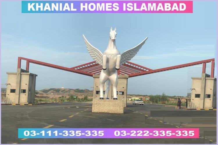 Khanial Homes 5 marla plot for sale on installments
