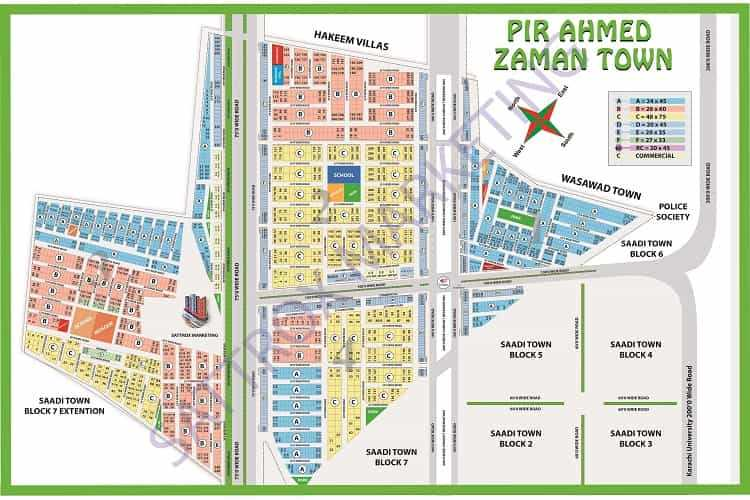 120 Sqy Plot for Sale in Block 1 Pir Ahmed Zaman Town Sch33