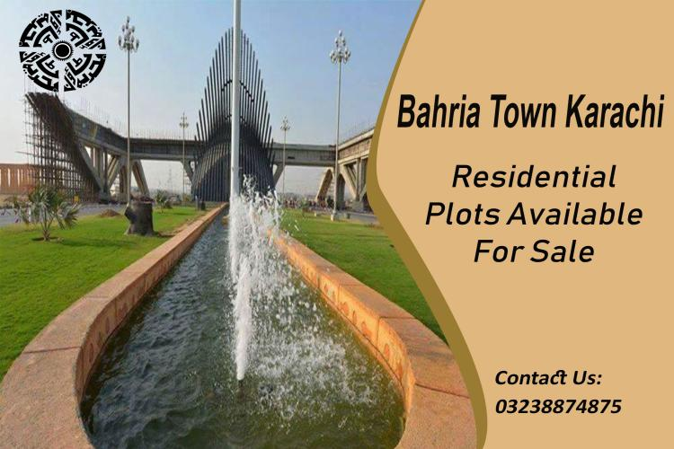 Residential Plots available for sale in Precinct 10 Bahria town karachi