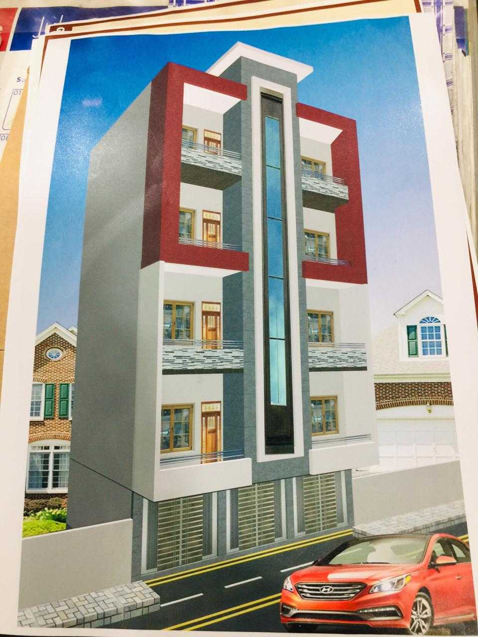 1st floor is available, 100 sq, T-Block, north nazimabad