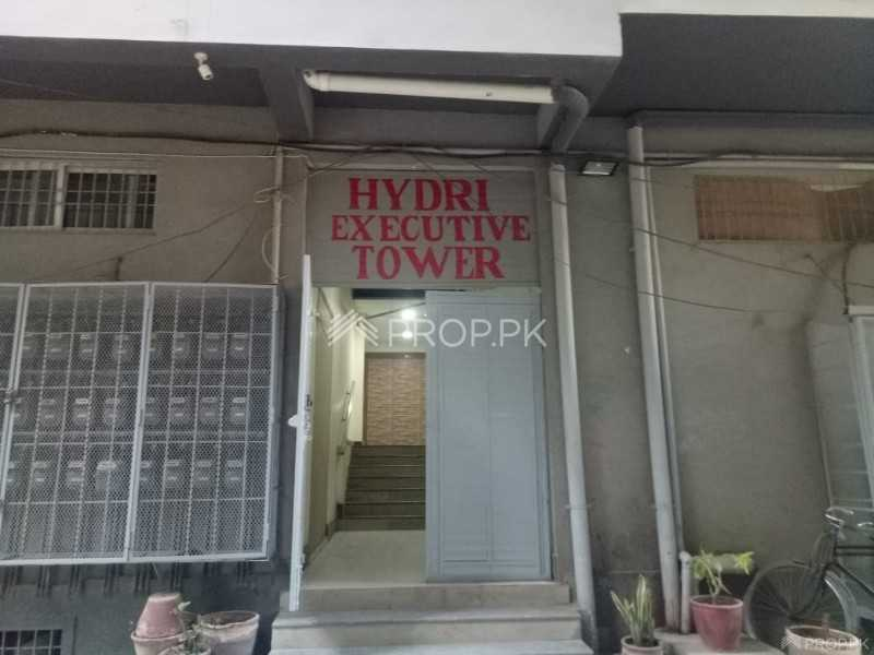 1350 Sqft Apartment for Sale in Hydri Executive Tower North Nazimabad
