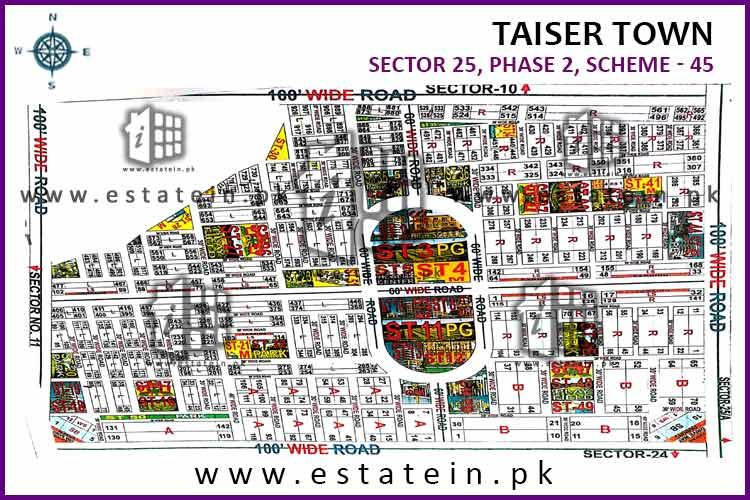 Taiser Town Phase 2 Sector 25 plot for sale 80 Sqyd