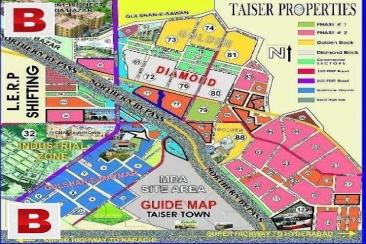 Taiser Town Phase 1 Plot 240 Sq yds Sector 81/3