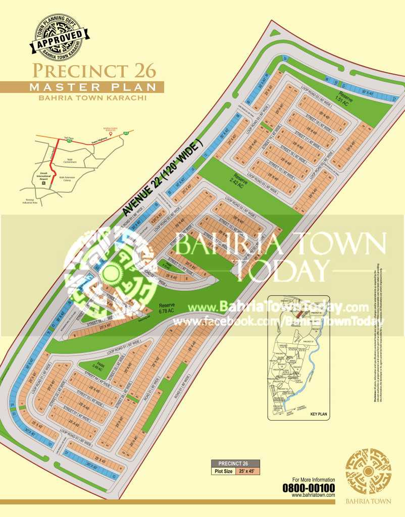 125 Sq yards plot for sale in Precinct 26