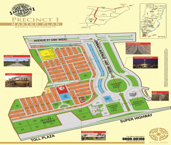 Bahria P1 plot West open 250 sq yard's