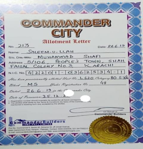 Commander City Banglow