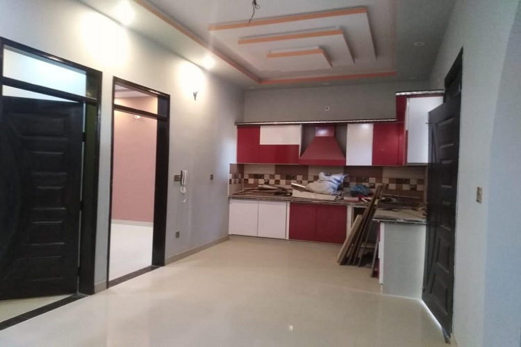 120 Sq Yard House G+2 For Sale Brand New in FB Area Block 9