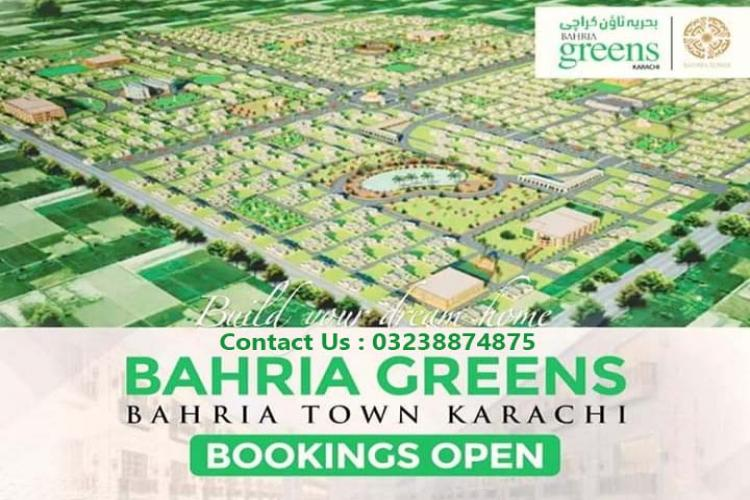 BAHRIA GREEN PAKISTAN'S BIGGEST LOW COST PROJECT