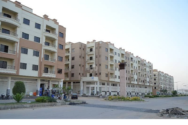 2 Bed Lounge 750 Sqft Flat on Rent in Saiman Arabian Apartment