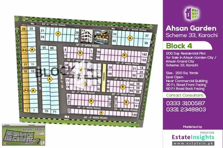 200 Sqy Plot In Ahsan Garden / Ahsan Town Block 4