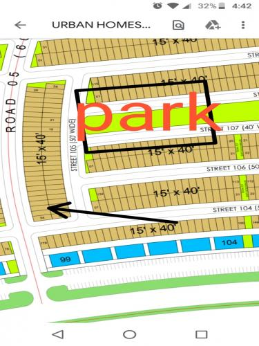 75 SQ YARDS PLOTS AVAILABLE IN BAHRIA GREEN