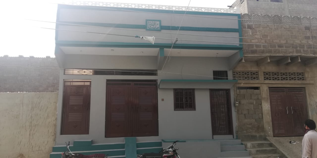 80 sq yard House for Sale Shah Latif Town