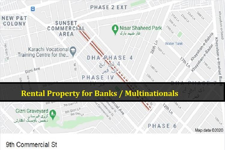 3600 sq Ground & basement Rental Property in DHA Phase 4