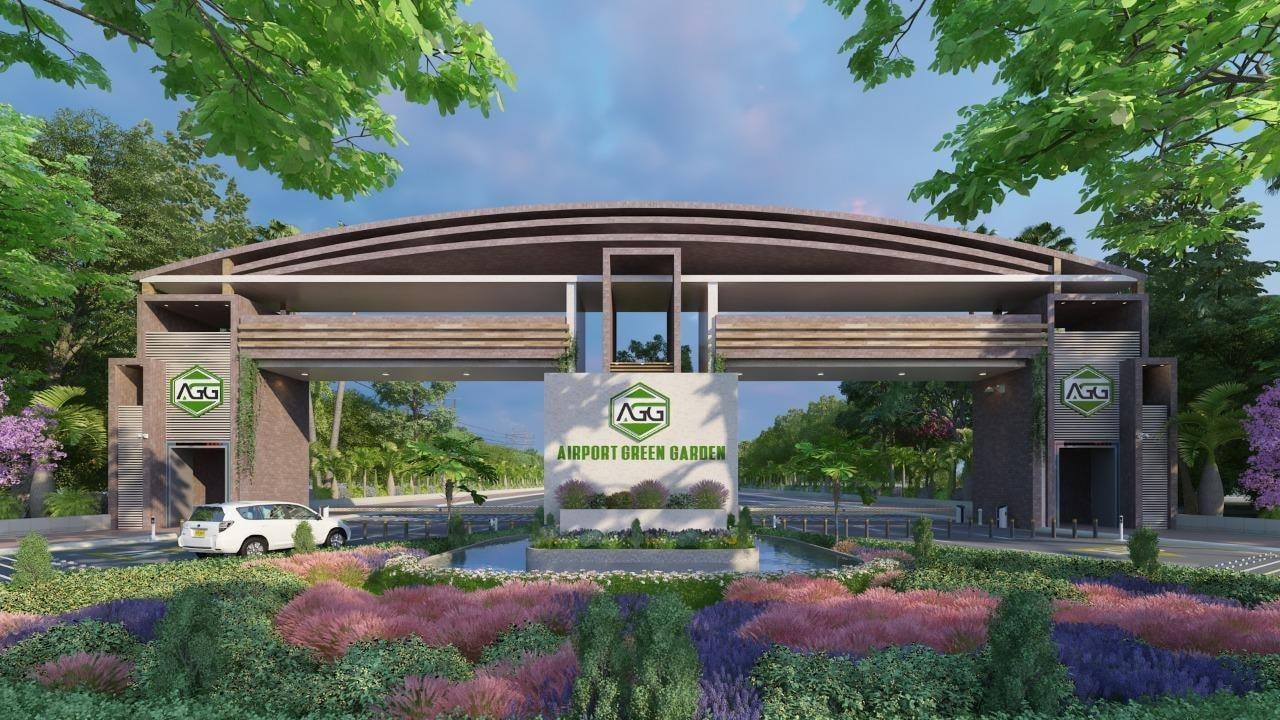 Plots available for sale in Airport Green Garden