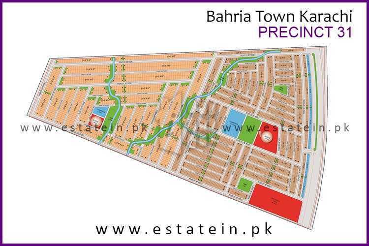 125 Sqy Plot for Sale in Precinct-31 Bahria Town Karachi