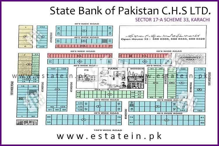 200 yards plot for sale in State Bank Society 17 A